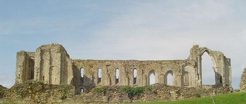 Ruines de l'Abbaye de Maillezais